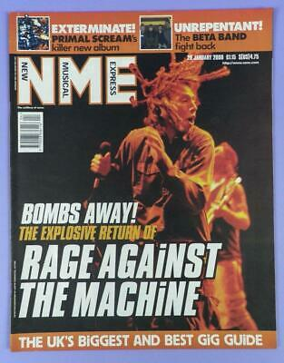 NME January 29th 2000, Rage against the Machine, The Beta Band