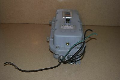 Allen Bradley Model 509-Ced Full Voltage Starter In Explosive Proof Custodia