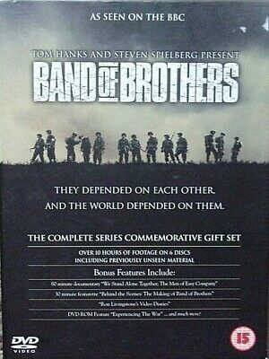 Band Of Brothers (DVD 2002, 6-Disc Set)