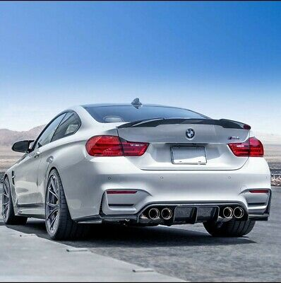 "Bmw F82 M4 Coupe Spoiler  Non-Painted Oem Fit  "" M4 V Style "" Frp"