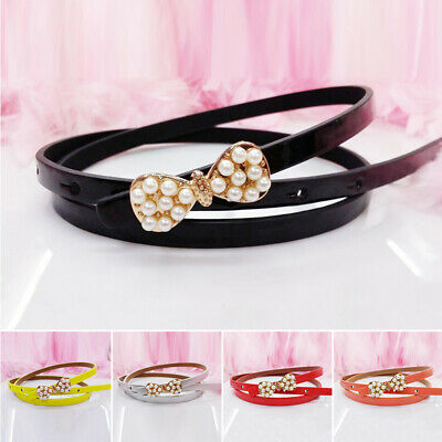 Belt Color Baby Buckle Kids Newly Boys Colorful Bow Adjustable Quality