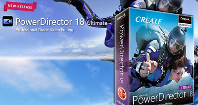 CyberLink PowerDirector Ultimate 18.0.2 🔥 Genuine Licence ✔️ for Windows ✔️