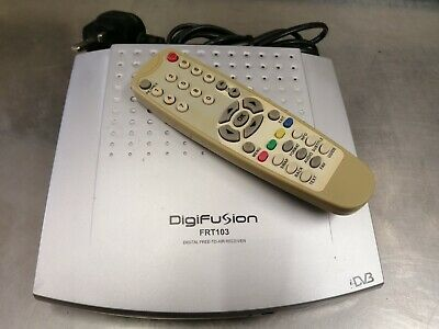 DIGIFUSION FRT103 DIGITAL FREE-TO-AIR RECEIVER (Tested)
