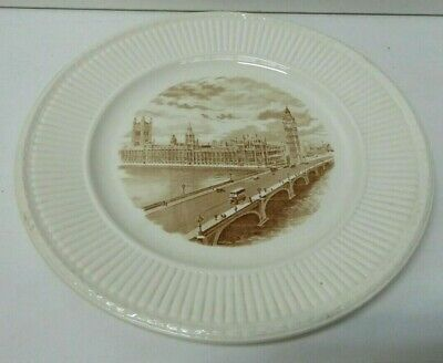 Vintage Wedgwood Etruria Barlaston Old London Views Plate