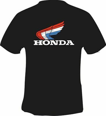 New 2000 ! Retro Honda Style Wing Red White Blue T SHIRT SIZE S-3XL