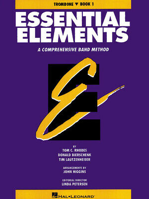 Essential Elements Book 1 for Trombone Band Method Beginner Learn Music Lessons