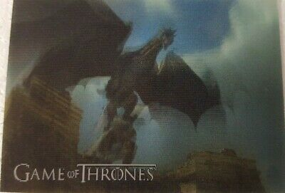 2019 RITTENHOUSE GAME OF THRONES INFLEXIONS Lenticular Motion Card L01 Dragon
