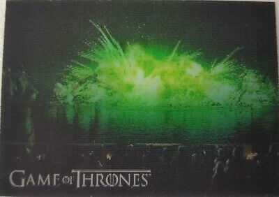2019 RITTENHOUSE GAME OF THRONES INFLEXIONS Lenticular Motion Card L05 Blackwatr