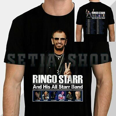 Ringo Starr And His All Starr Band Tour Date 2019 T SHIRT SIZE S-3XL