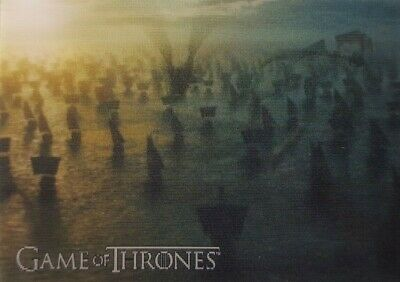 2019 RITTENHOUSE GAME OF THRONES INFLEXIONS Lenticular Motion Card L16 Armada