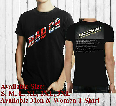 New 2000 ! Bad Company Tour Date 2019 T SHIRT SIZE S-3XL