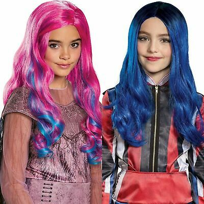 Descendants 3 Evil Audrey Cosplay Wig Halloween Costume Mal Fancy Hair Accessory
