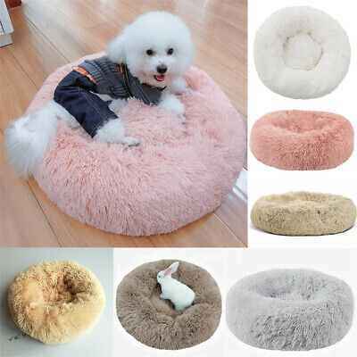 Comfy Calming Dog/Cat Bed Round Super Soft Plush Pet Bed Marshmallow Cat Bed US