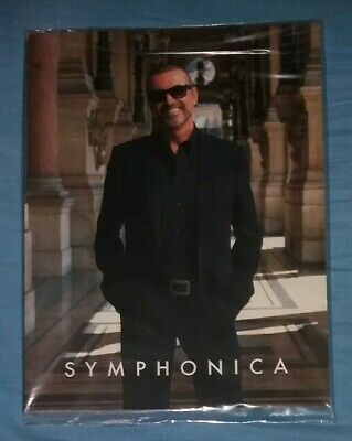 🎸 George Michael Symphonica BOOK TOUR SEALED NEW RARE 1st PRESSING  🎸