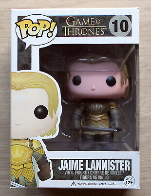 Funko Pop Game Of Thrones Jaime Lannister (Small Creases) + Free Protector