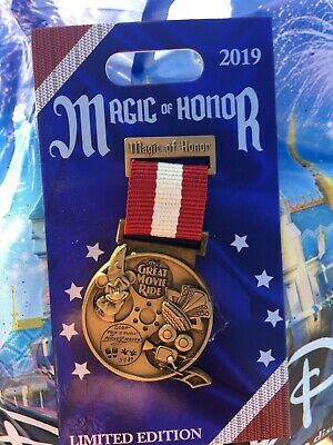 Magic Of Honor: The GREAT MOVIE RIDE Badge Disney World Limited Edition Pin