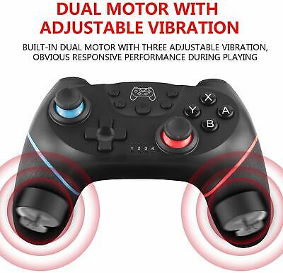 Wireless Controller Nintendo Switch Bluetooth Gamepad Turbo Dual Shock Gyro Axis