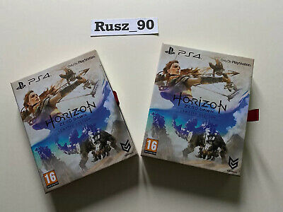 Horizon Zero Dawn BOX ONLY (NO GAME) Limited Edition/Collectors Edition PS4