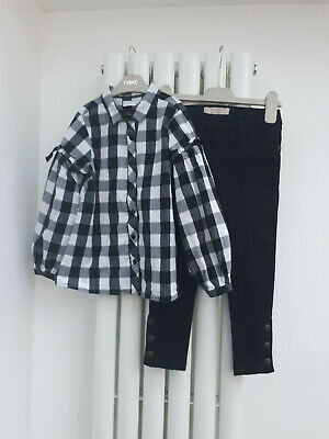 Girls NEXT top and jeans age 5 years