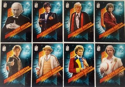 DOCTOR WHO Timeless DOCTORS ACROSS TIME 13 Card Set 2016 topps