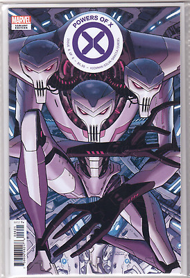🔥 POWERS OF X #6 Dustin Weaver New Character VARIANT Cover B First Print NM+🔥