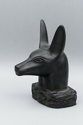 Unique Egyptian God anubis head stone made in egypt