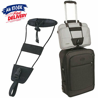 Adjustable Tape Suitcase Tie Bungee Luggage Strap Belt Bag On Carry Travel