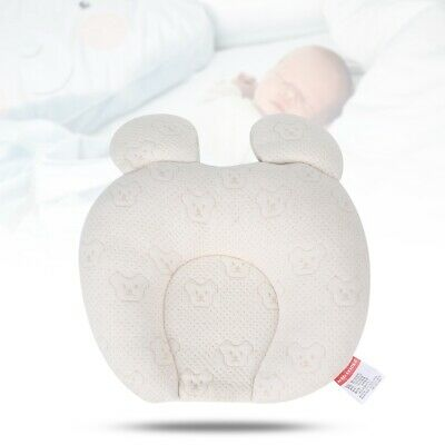 Soft Latex Pillow Baby Head Shaping Sleep Positioning Cushion for Infant Newborn