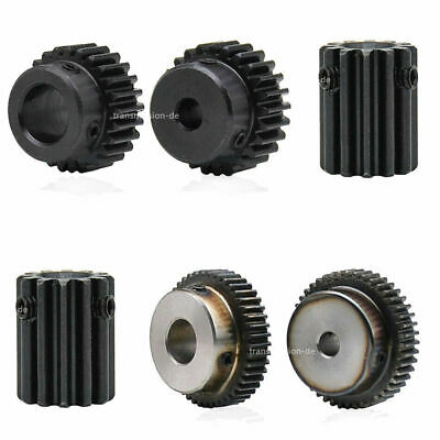 0.5/1 Mod Pinion Gear 10T-150T Spur Gear with Step 45# Steel Transmission Gear