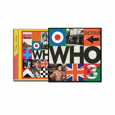 THE WHO 'WHO' Deluxe Edition CD (Bonus Tracks) (6th December 2019)
