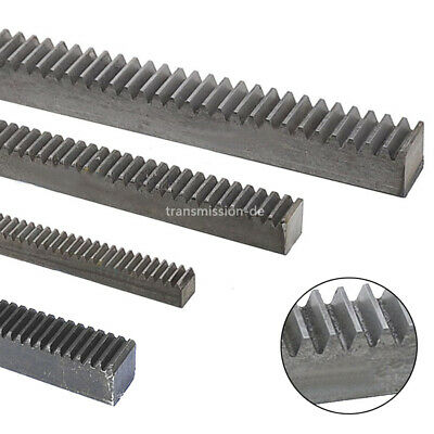 1/1.5/2 Mod Gear Rack 45# Steel 200mm/500mm Length Gear Rack For Motor Accessory