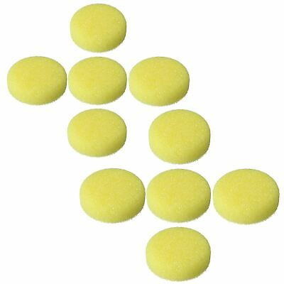 75mm Firm Extra Coarse Starting Mop Sponge Buffing Polishing Hook + Loop 10pc