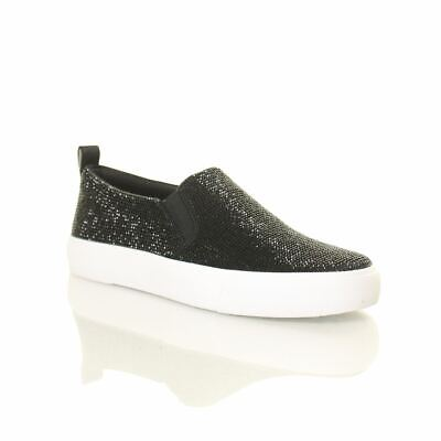 JESSICA SIMPSON NEW Women's Danika Warm Up Slip On Sneakers Shoes TEDO