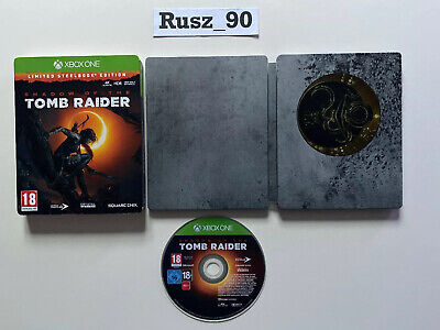 Shadow Of The Tomb Raider Steelbook Edition Xbox One - SEE PHOTOS FREE POSTAGE