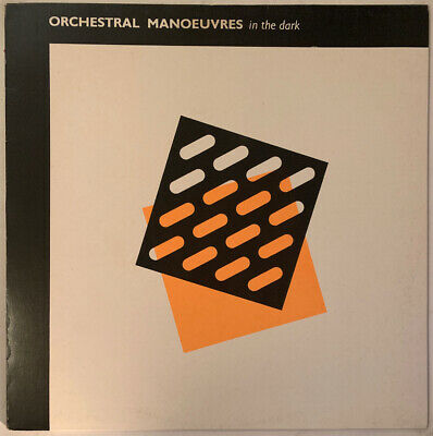 Orchestral Manoeuvres In The Dark Self Titled Lp Virgin Dutch Press Red Green Nm
