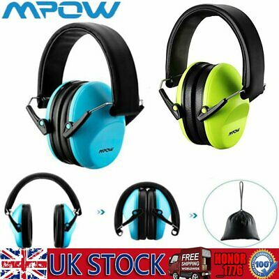 Mpow Kids Baby Children Ear Muffs Hearing Protection Defender 25dB Insulation UK