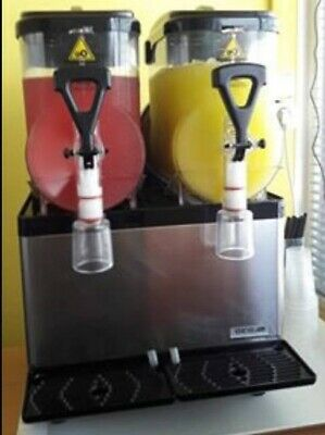 Carpigiani GBG Spin 2x5 ltr double Slush puppy machine milkshake