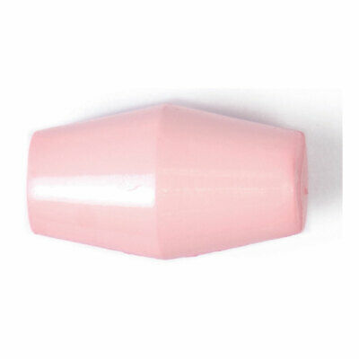 ABC Loose Buttons Nylon   19mm  Pink   Pack of 20   Toggle With Shank   2B-2254