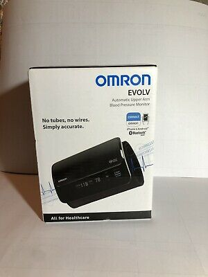 Omron EVOLV Blood Pressure Monitor Bluetooth Smart Healthcare iPhone/Android New