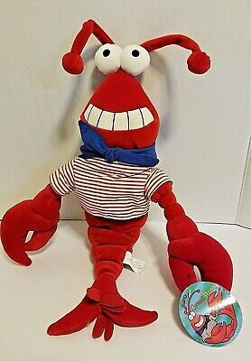 "Grand Casino Biloxi 18"" Plush RED LOBSTER IN SAILOR SUIT Nautical Mississippi"