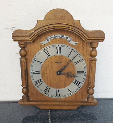 Old Hermle Tempus Fugit in Wooden Housing - Incomplete - Restoration Object
