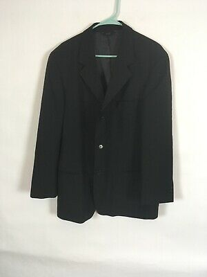 Mens Dkny Black Suit Jacket Size 42R