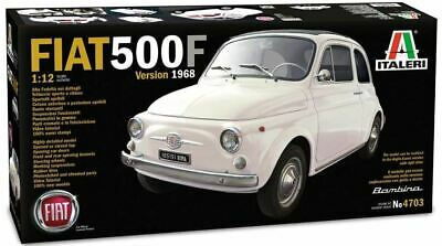 Italeri 1/12 Fiat 500F Version 1968 Car (Ltd Edition) | 4703