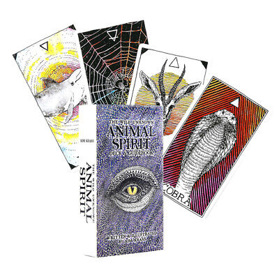 The Wild Unknown Animal Spirit Deck 63 Tarot Cards And Guidebook Divination Tool