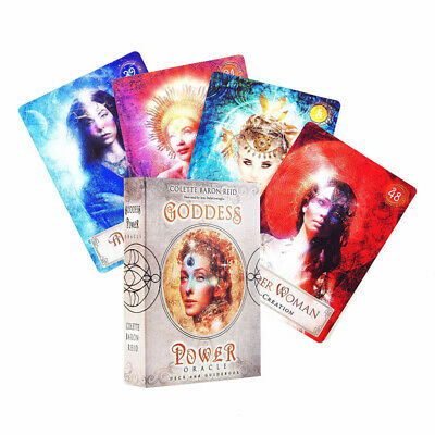 Goddess Power 52 Oracle Cards: Deck and Guidebook by Colette Baron-Reid Magic