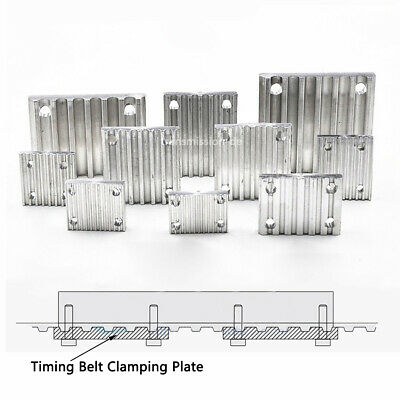 Timing Belt Clamping Plate GT2 2M 3M 5M 8M MXL Tooth Plate Timing Belt Connector