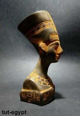 ANCIENT EGYPTIAN ANTIQUE HEAD of Nefertiti Stone 1270-1110 BC
