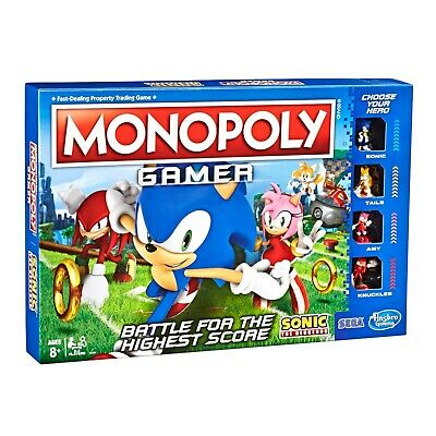 Monopoly Gamer Sonic The Hedgehog Edition Officially Licensed New Sealed (12)