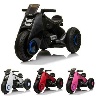 6V Electric Ride On Motorcycle Kids Driving Motorbike Battery Operated 3 Wheels