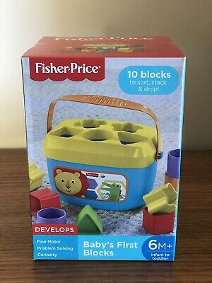 BNIB Fisher Price Baby's First Blocks